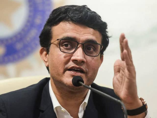 "Sourav Ganguly Says Domestic Cricket ""Will Happen Only After Coronavirus"""