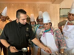Pasta, Butter Paneer Cooking Lessons For Team Gehlot At Rajasthan Resort