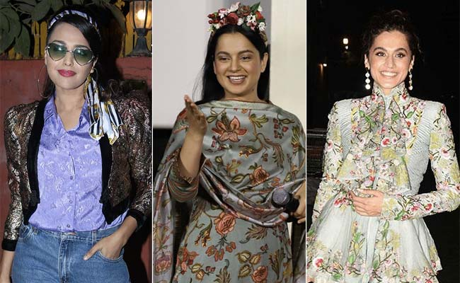 "Kangana Ranaut Aims Again At ""Swara Bhasker, Taapsee Pannu-Type Log."" They  Tweet Responses – News Reader Board"