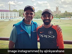 """Don't Bother What The Shots Look Like"": What Rahul Dravid Advised Ajinkya Rahane For T20s"