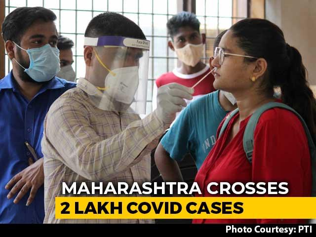 Video : Maharashtra Coronavirus Cases Cross 2 Lakh-Mark, 7,074 New Cases In 24 Hours