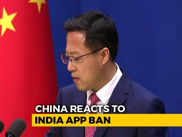 "Video : China Says ""Strongly Concerned"" After India Blocks Chinese Apps"