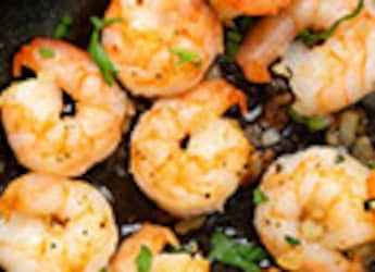 Watch: Easiest 5-Min Butter Garlic Prawns Snack Recipe For Seafood Lovers