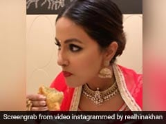 Hina Khan खा रही थीं समोसा तभी Video बनता देख चिल्ला पड़ीं एक्ट्रेस, बोलीं- Stop It...