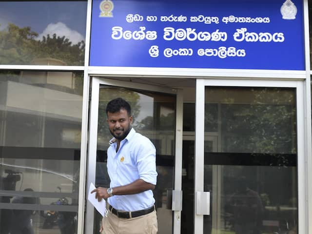 Sri Lanka Police Questions 2011 World Cup Opener Upul Tharanga In Fixing Charge