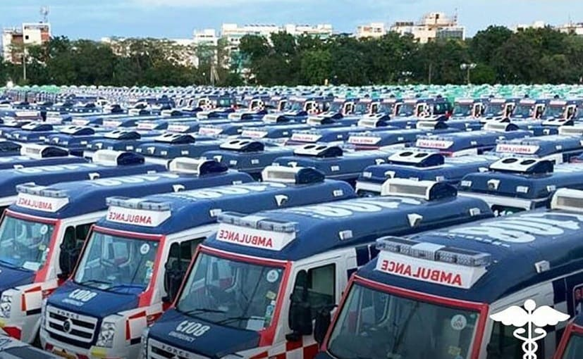 Mobile medical units delivered by Force Motors are equipped with COVID screening facilities
