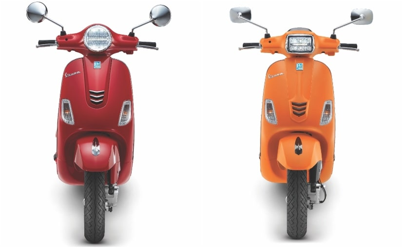 The 2020 Vespa range come with new LED headlamp and DRL new BS6 compliant engines