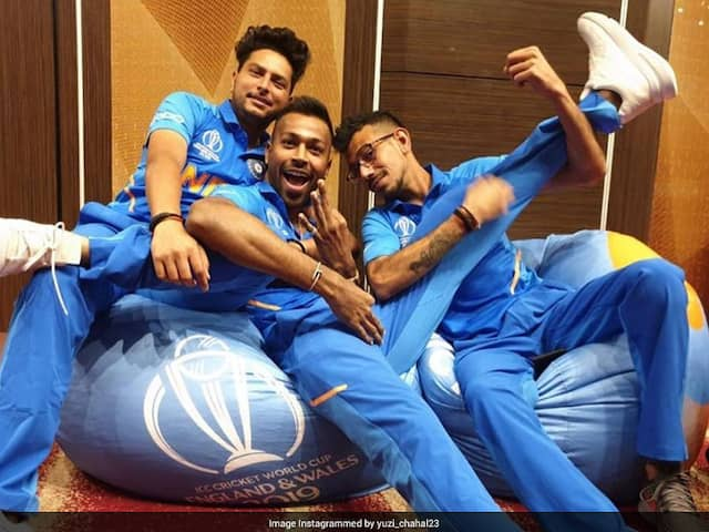 """Power Of Three"": Yuzvendra Chahal Shares Throwback Picture From 2019 World Cup"