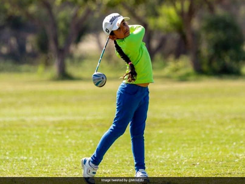 7-Year-Old Golfer Ojaswini Saraswat Aims To Win Major Championship
