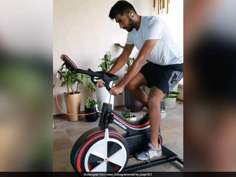 How Jasprit Bumrah Is Keeping Himself Fit. Watch