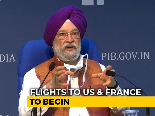 """Video : India Announces """"Air Bubbles"""" With US, France; Flights From Tomorrow"""