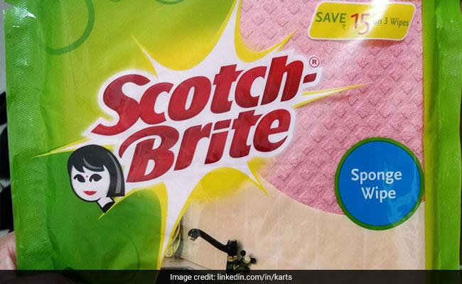 स्कॉच ब्राइट के पैकेट से हटेगा महिला का लोगो, कंपनी ने पोस्ट शेयर कर दी जानकारी