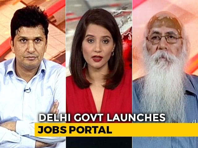 Video : Delhi Launches Jobs Portal To Kickstart Economy