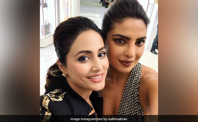 On Priyanka Chopra's Birthday, Fangirl Hina Khan Shares A Throwback From Cannes