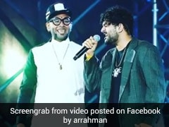 In AR Rahman's Throwback Video, Benny Dayal And Sid Sriram Set The Stage On Fire