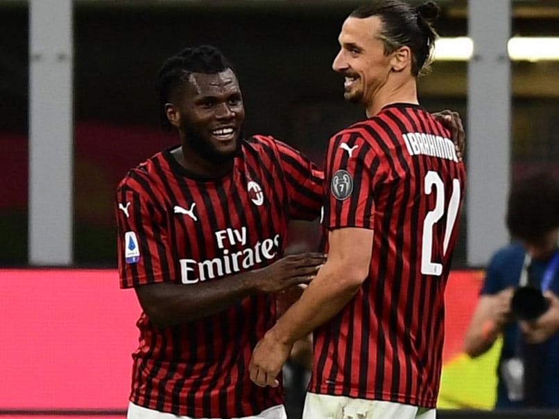 Serie A Zlatan Ibrahimovic Inspires Ac Milan Comeback As Juventus Miss Chance To Stretch Lead Football News Newstube