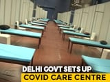 Video : Delhi's CWG Stadium Converted To COVID-19 Care Centre With 600 Beds