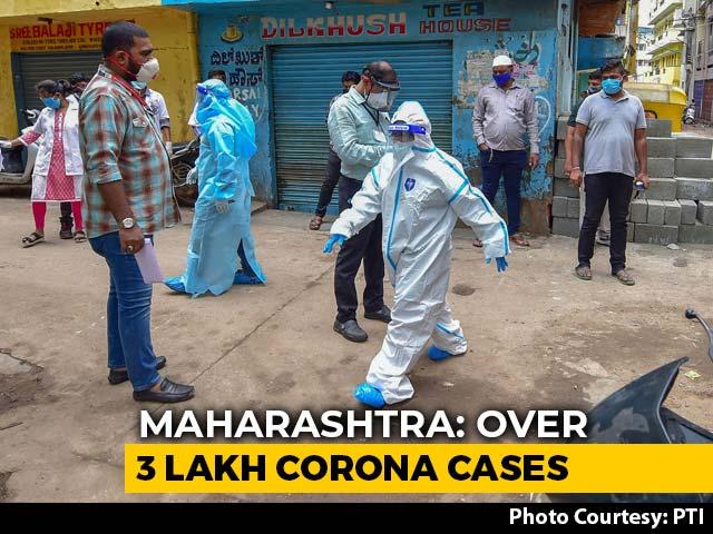 Video : Maharashtra Crosses 3 Lakh Coronavirus Cases, Mumbai 1 Lakh