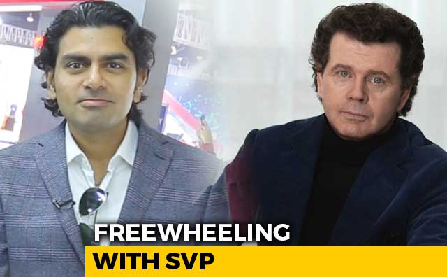 Freewheeling With SVP: Live With Prof Gerry McGovern, Land Rover