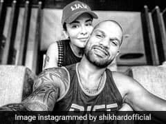 Shikhar Dhawan Shares Loved-Up Picture With Wife Aesha
