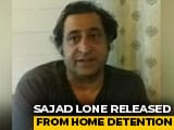 """Video : """"5 Days Short Of A Year"""": J&K Politician Sajad Lone Freed From Detention"""