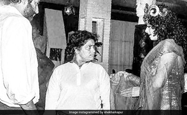 Saroj Khan And Sridevi From Hawa Hawai Sets: 'This Is A Sad Pic,' Writes Mr India Director Shekhar Kapur