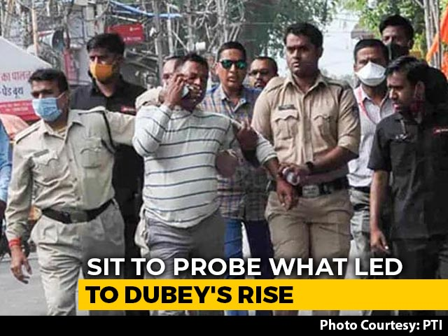 Video : Special Investigation Team Formed By UP To Probe The Rise Of Vikas Dubey