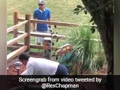 शॉट मारने के बाद बॉल ढूंढने आया गोल्फर, जमीन पर पड़ा दिखा शख्स तो उड़े होश... देखें Viral Video