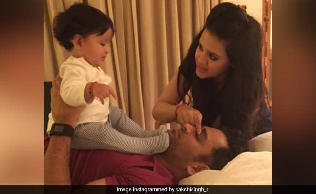 MS Dhoni And Sakshi complete 10 Years of marriage, share romantic note on this occasion