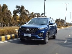 MG Hector Plus SUV Teaser Video Reveals Captain Seats
