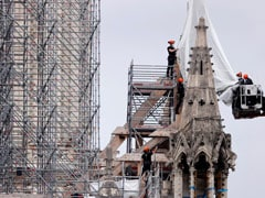 France's Notre-Dame Cathedral To Be Rebuilt As It Was Before Inferno