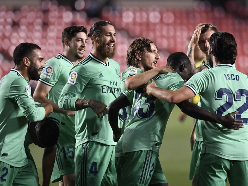 Real Madrid just a win away from clinching La Liga title