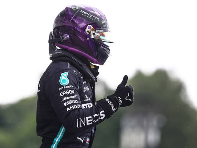 Lewis Hamilton Breaks Records As Mercedes Lock Out Front Row At Hungarian Grand Prix