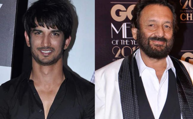 'If Paani Gets Made One Day, I'll Dedicate It To Sushant Singh Rajput': Tweets Director Shekhar Kapur