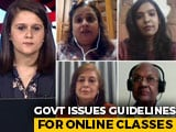 Video : Centre Caps Screen Time For Online Classes To 3 Hours Per Day