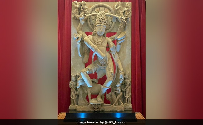 9th Century Shiva Statue, Smuggled To UK, To Be Returned To India