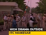 Video : Rajasthan Cops Enter Camp Pilot After Drama, Were Stopped By Haryana Cops