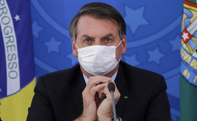 Brazil President Jair Bolsonaro Tests Positive For Coronavirus