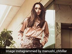 """Manushi Chhillar's Fashion Mantra Is """"Retro At Heart"""": Here's Proof"""
