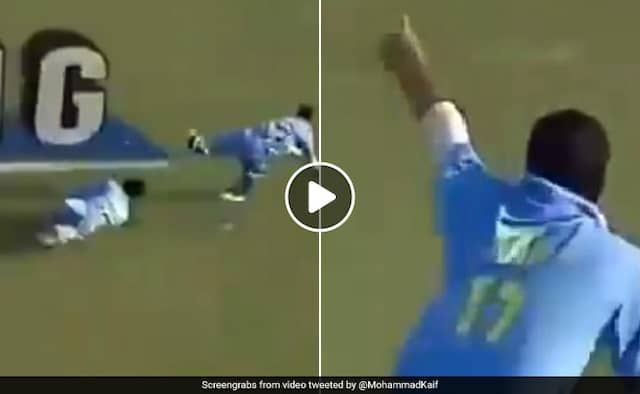 Mohammad Kaif Shares Throwback Video Of His Incredible Catch vs Pakistan Watch Video