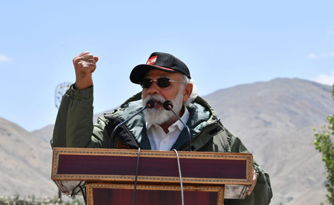 Only The Brave Deliver Peace: PM Modi's Strong Message In Ladakh