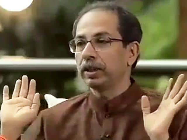 "Video : ""I Am Not Donald Trump"": What Uddhav Thackeray Said On Pandemic"