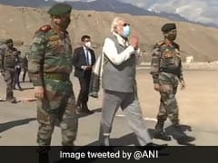 """Updates: """"The Enemy Has Seen Your Fire And Fury As Well"""", Says PM In Address To Soldiers In Ladakh"""