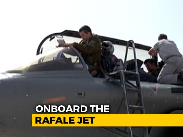 Video : Exclusive: NDTV Onboard The Rafale Jet