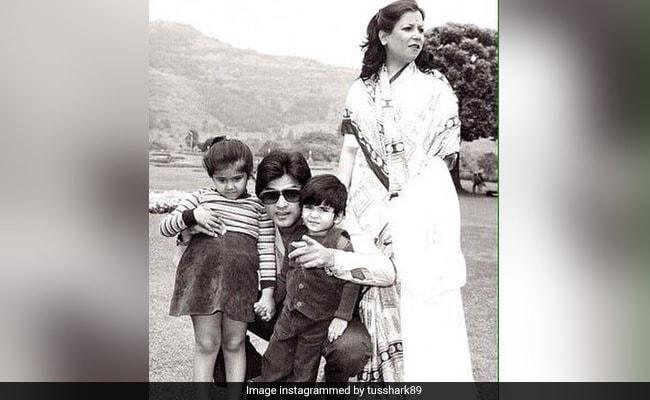 Jeetendra, Shobha, Ekta And Tusshar Kapoor In A Major Blast From The Past