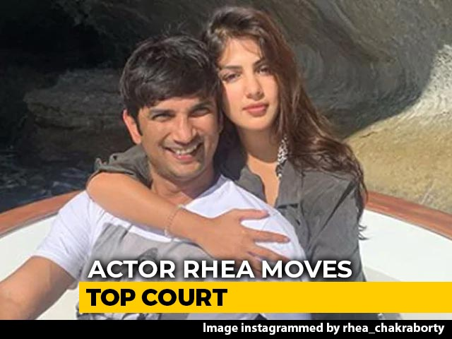Video : Rhea Chakraborty's Top Court Move On Sushant Singh Rajput Father's Case