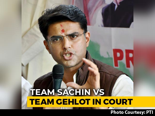 Video : Sachin Pilot, Petitioner No 7, Takes Congress To Court