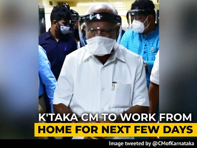 Video : BS Yediyurappa To Work From 德扑圈apphome After Staff Test Positive For COVID-19