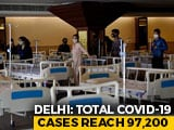 Video : Delhi's COVID-19 Positivity Rate Declines, Recovery Rate Crosses 70%