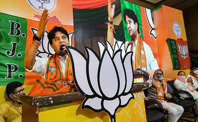 Shivraj Chouhan, Jyotiraditya Scindia Among BJP's Star Campaigners For Madhya Pradesh Bypolls - NDTV